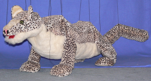 Snowy the Snow Leopard