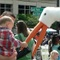 Apr 22, 2006: In one of his first appearances, Roarke the Stork greets guests at the Cobb Family Festival on the Marietta town square.